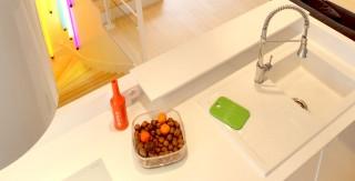 appartement cuisine blanc corian agence avous