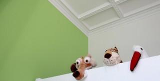 appartement familiale chambre enfant vert et bleu agence avous