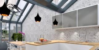 ancienne loge de gardien transform e en studio mezzanine. Black Bedroom Furniture Sets. Home Design Ideas