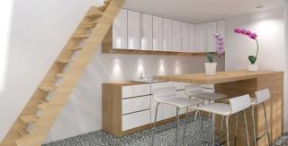 surelevation mezzanine cuisine ouverte agence avous
