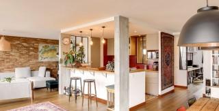 appartement avec terrasse bambou cuisine ouverte agence avous