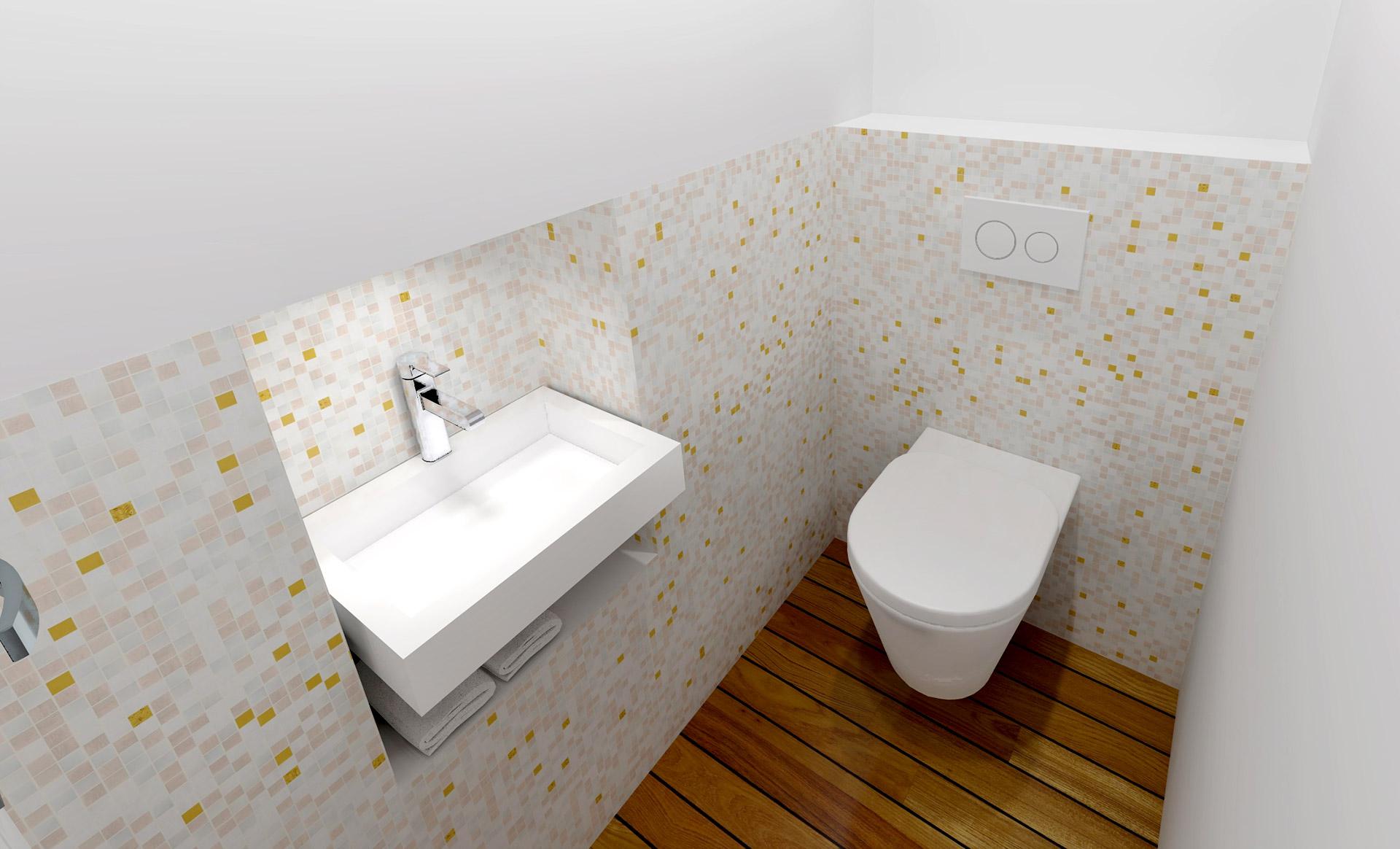 appartement haussmanien 16eme wc suspendu mosaique agence avous