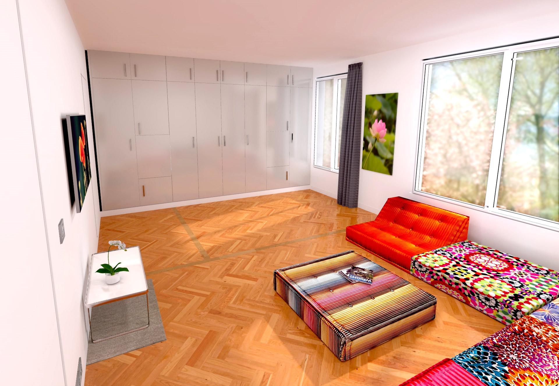 #BE190D Duplex Avec Suite Parentale Zen Transformable Salle Cinéma 3301 suite parentale esprit zen 1920x1325 px @ aertt.com