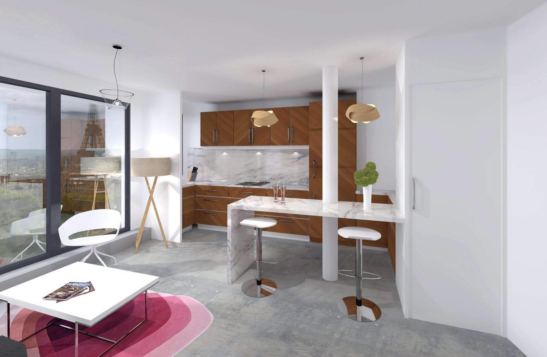 architecte interieur paris marbre bois realisation haut de gamme agence avous