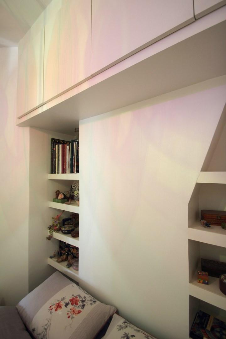Une chambre au milieu du salon architecture d 39 int rieur agence avous - Optimiser rangement chambre ...