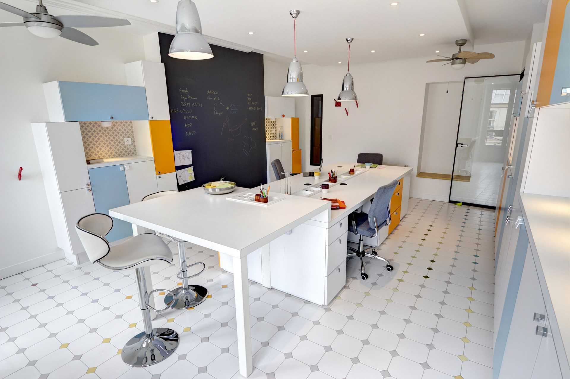 Bureaux atypiques pour missions publiques sentier paris for Deco cuisine atypique