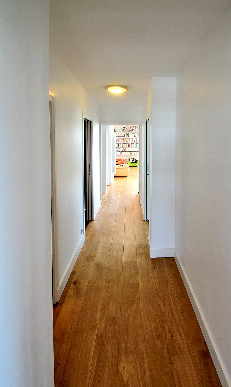 couloir blanc agence avous