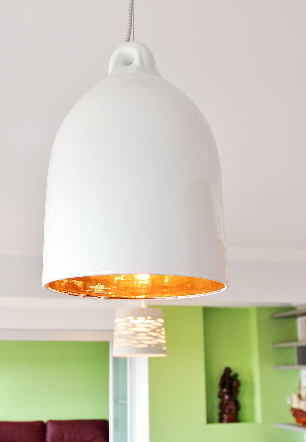 luminaire porcelaine or agence avous