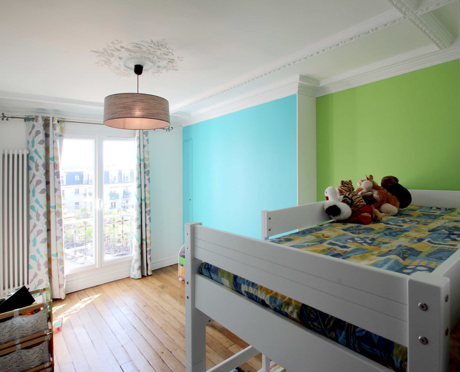 Optimisation appartement quai de jemmapes paris 10 me for Parquet chambre enfant