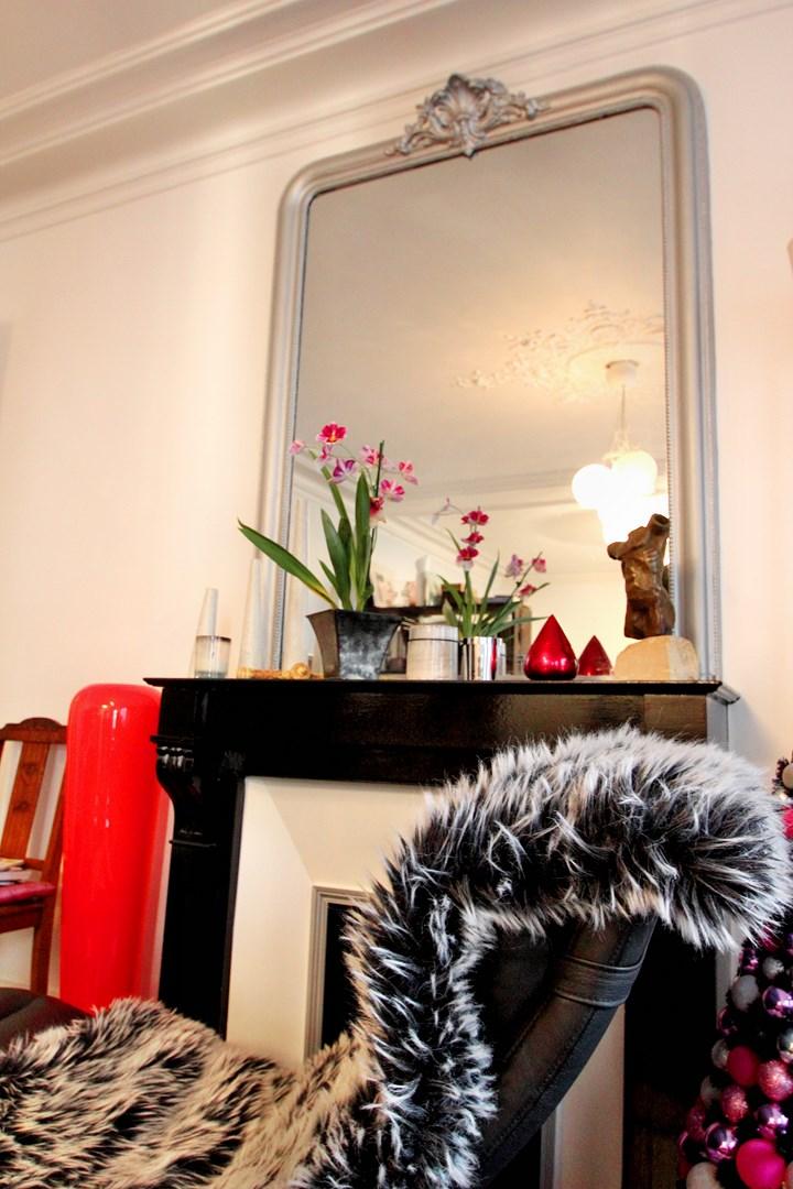 Couleur Chambre Lumineuse : Décoration éclectique et mobiliers sur mesure appartement