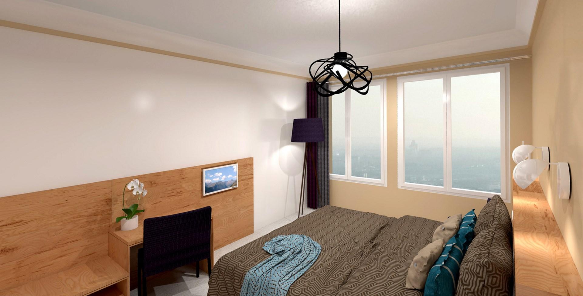 concept hotellerie chambre bureau agence avous