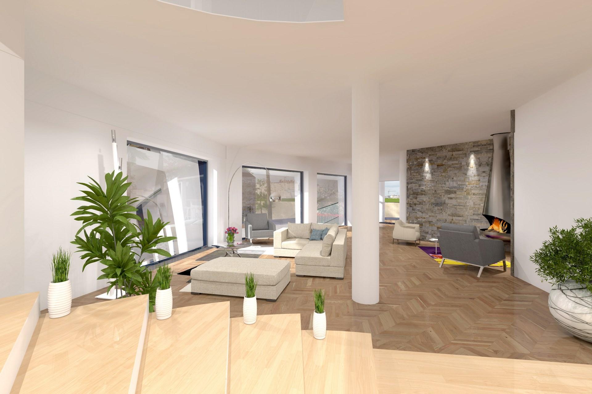 Maison avec salle spa cin ma sport piscine et golf - Maison pierre et acier de style contemporain en australie ...