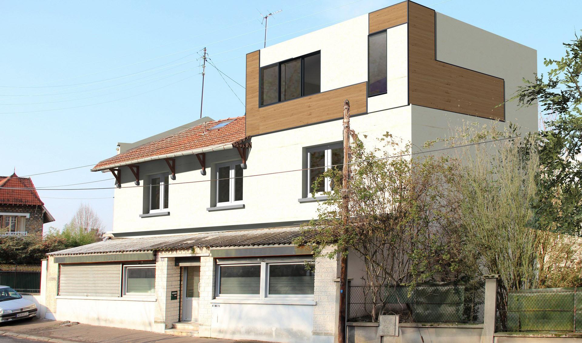 agrandir sa maison en hauteur agrandir sa maison en. Black Bedroom Furniture Sets. Home Design Ideas
