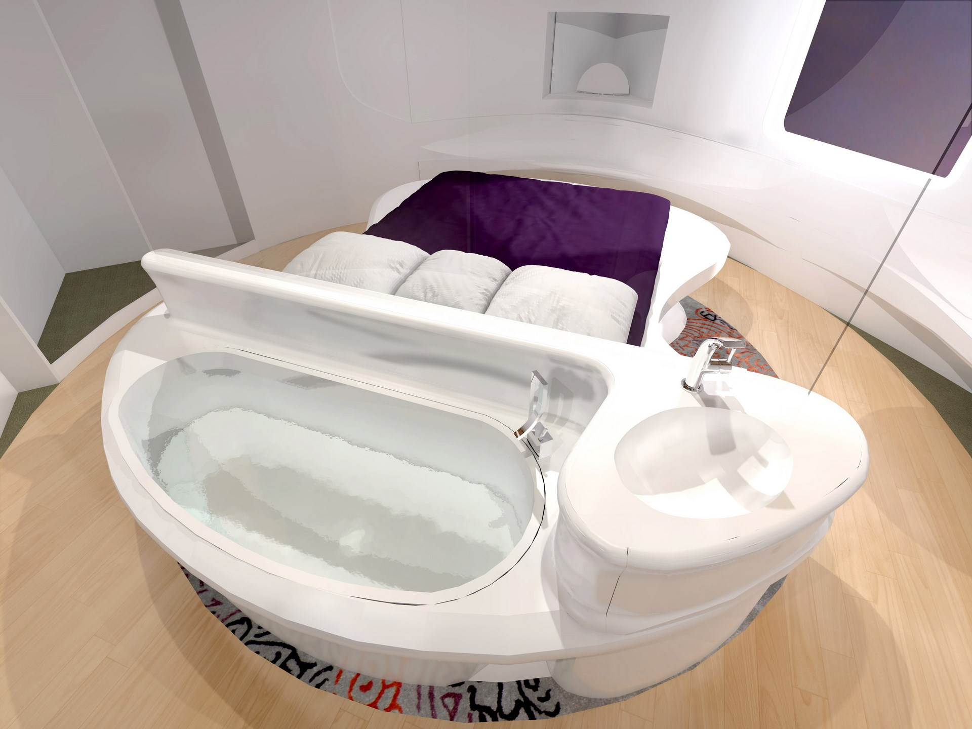 jaccuzzi concept hotel innovant agence avous
