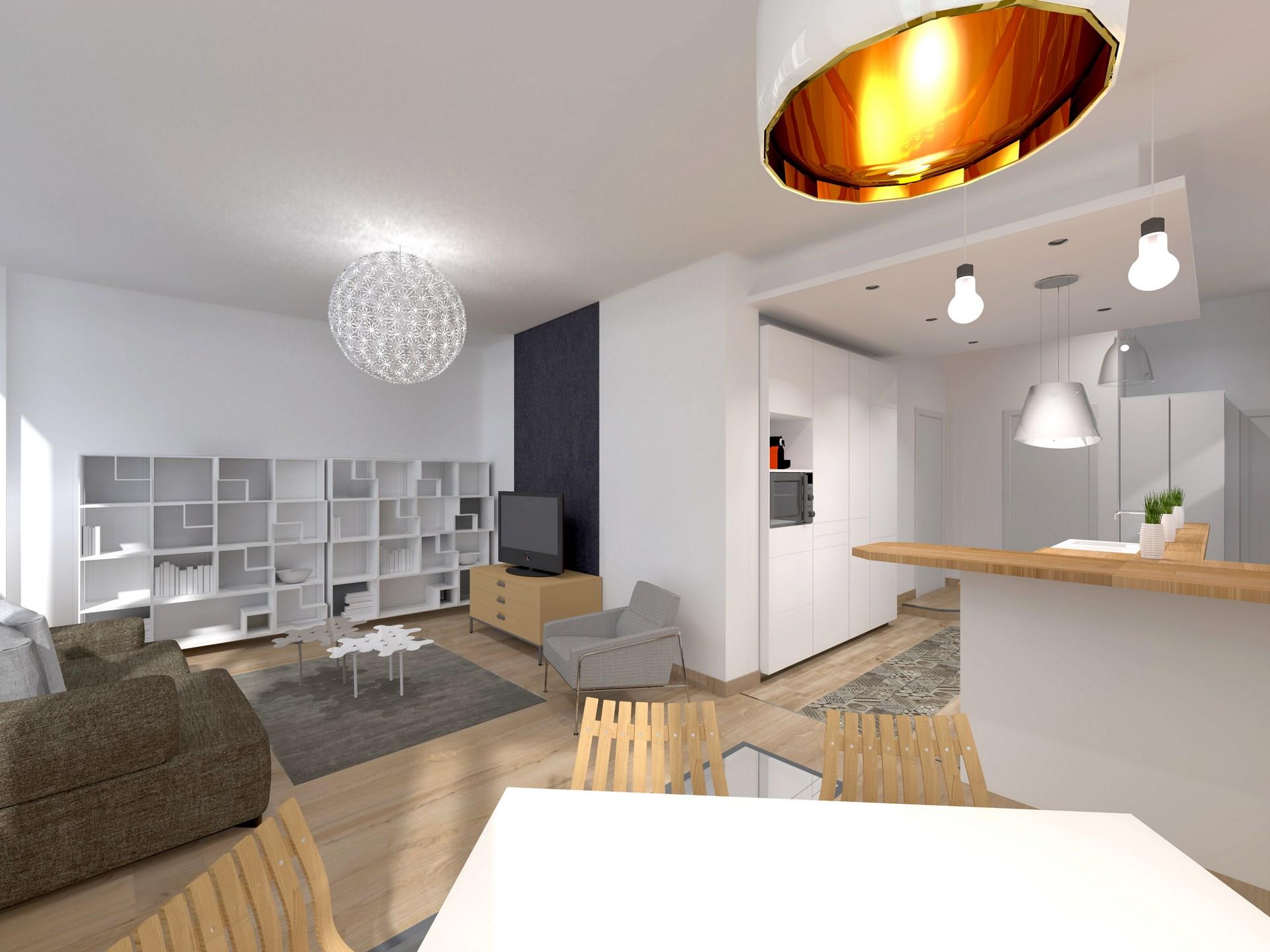 renovation souplex ancienne boutique verriere monochrome agence avous