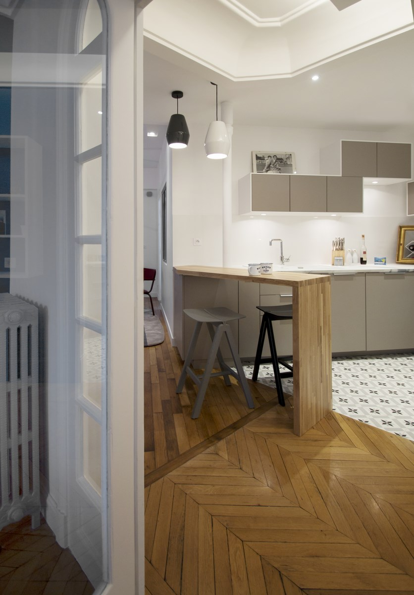 Idee cuisine americaine appartement ide et concept for Appartement design