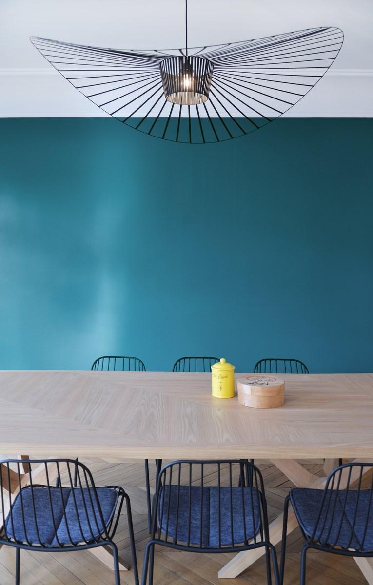 Design nordique double s jour art d co for Salle a manger style nordique