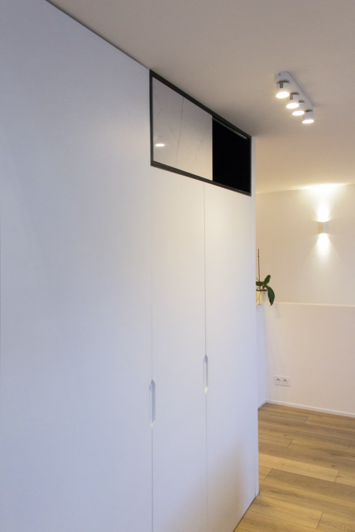 am nagement appartement vefa passerelle escalier colima on. Black Bedroom Furniture Sets. Home Design Ideas