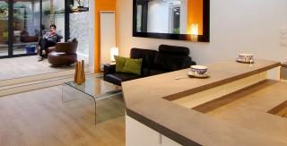cuisine veranda paris 19 bar ouvert sur salon agence avous
