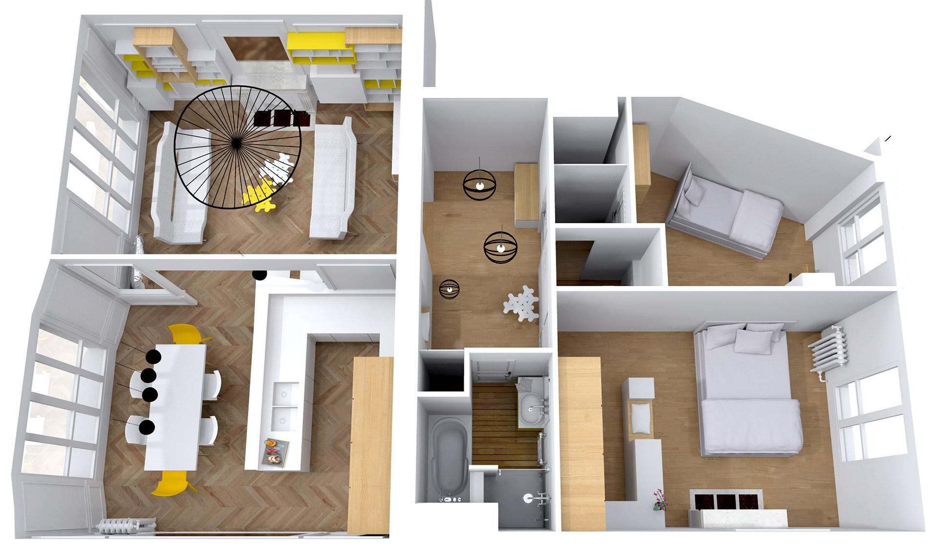 appartement haussmanien 16eme reorganisation luxe agence avous