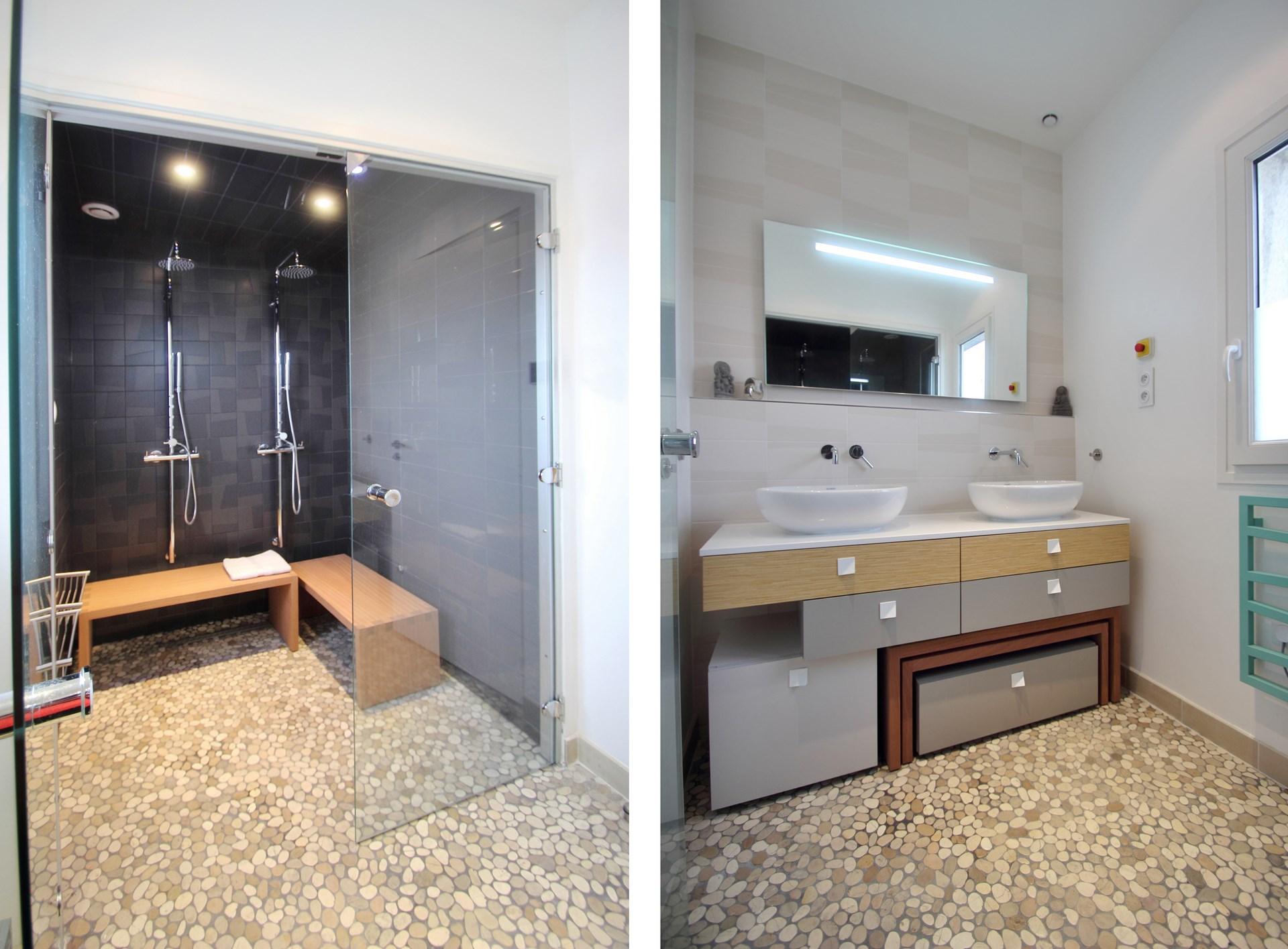 appartement sdb hammam grande douche a l italienne agence avous
