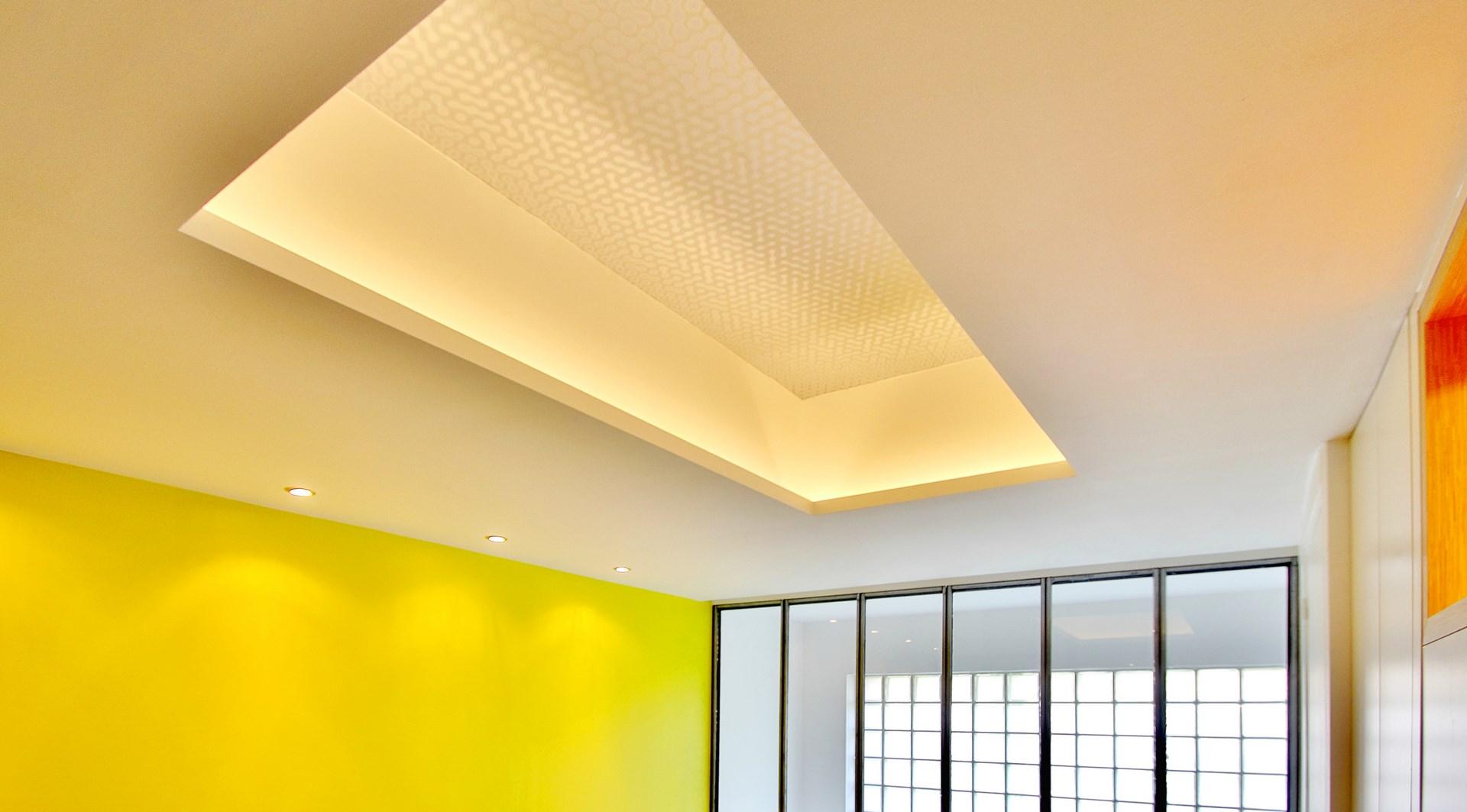 loft industriel triplex papier peint arte international verriere agence avous