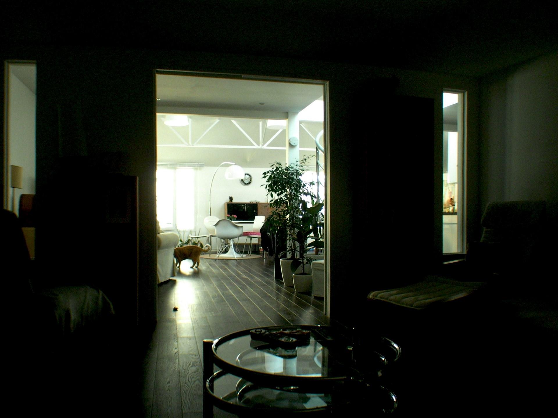 loft ancien garage industriel petit salon agence avous