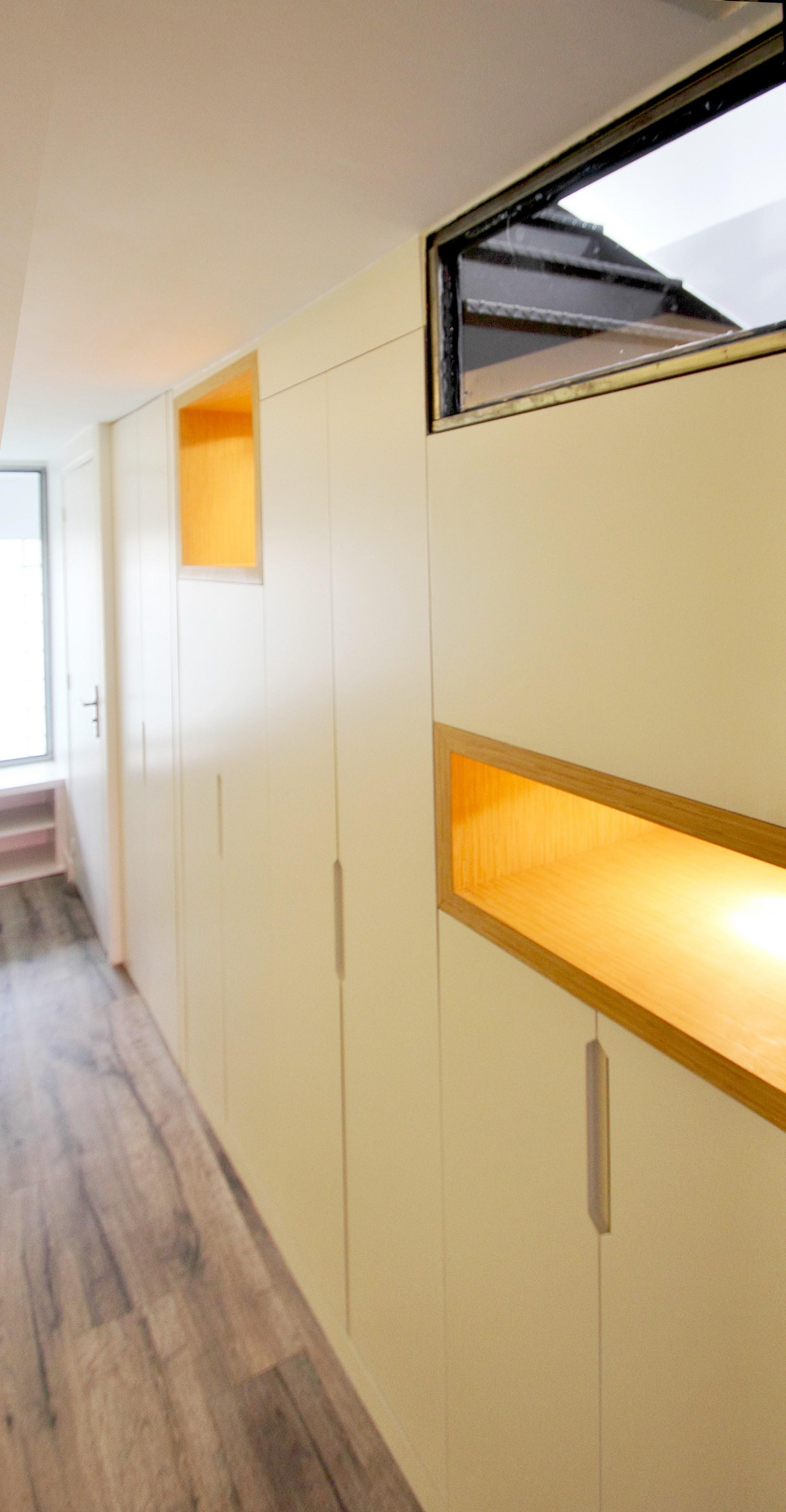 loft industriel mobilier sur mesure design