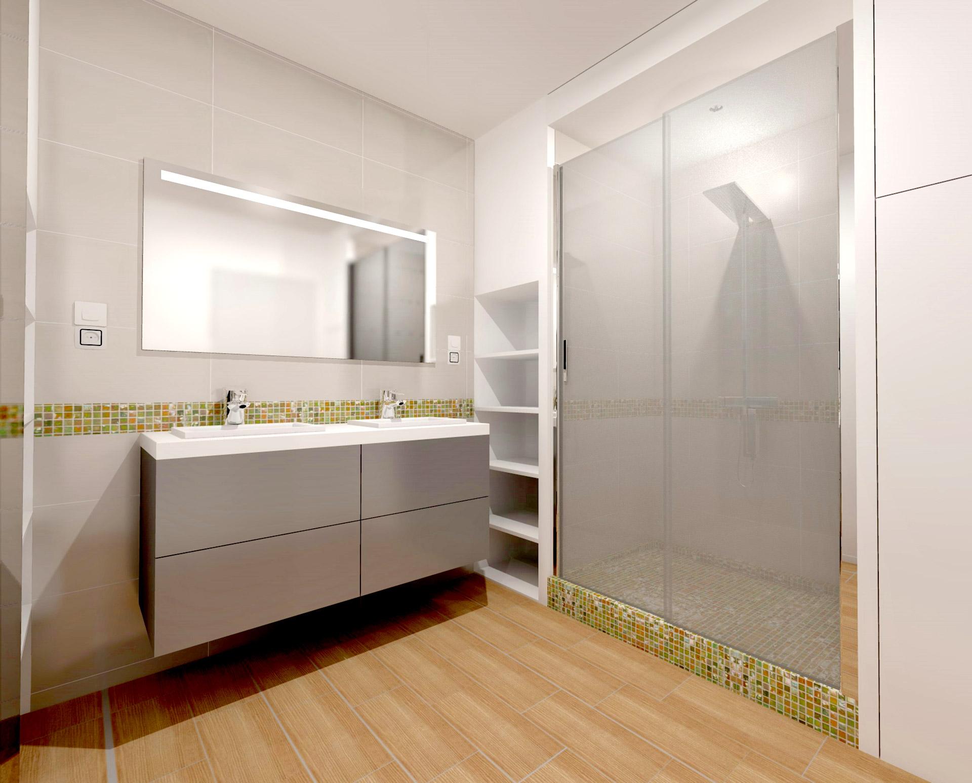 suite parentale salle de bain douche agence avous