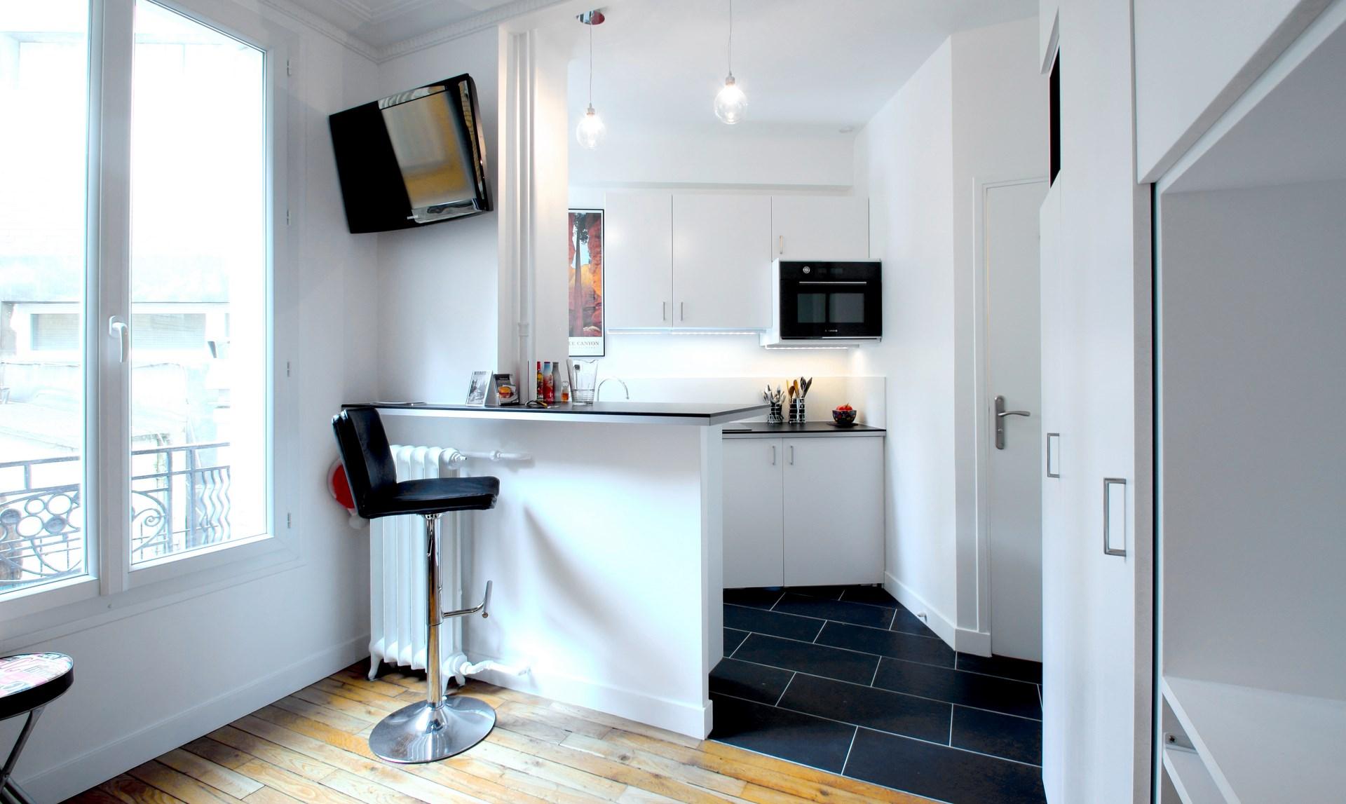 optimisation studio 17 m2 buttes chaumont paris agence avous. Black Bedroom Furniture Sets. Home Design Ideas