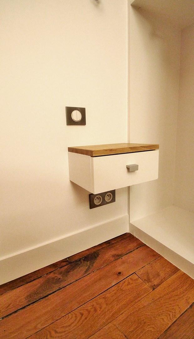 chambre isophonique rangements sur mesure tiroir agence avous