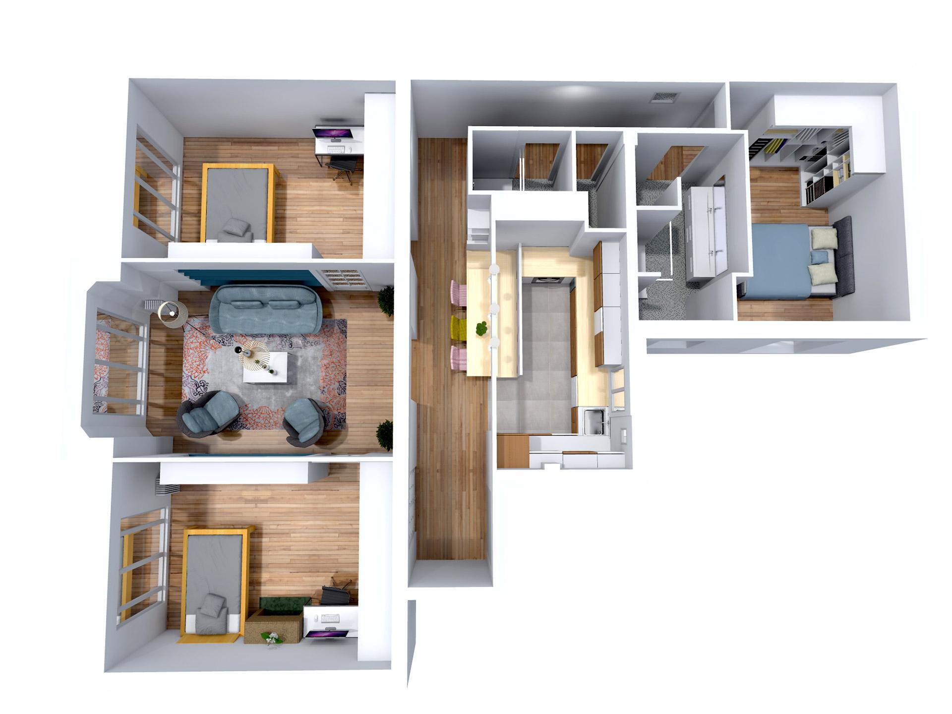renovation complete Appartement art deco paris agence avous