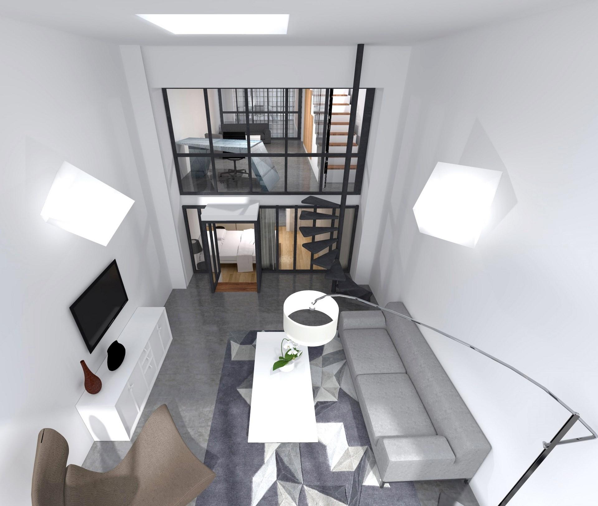agencement triplex luxe design contemporain agence avous