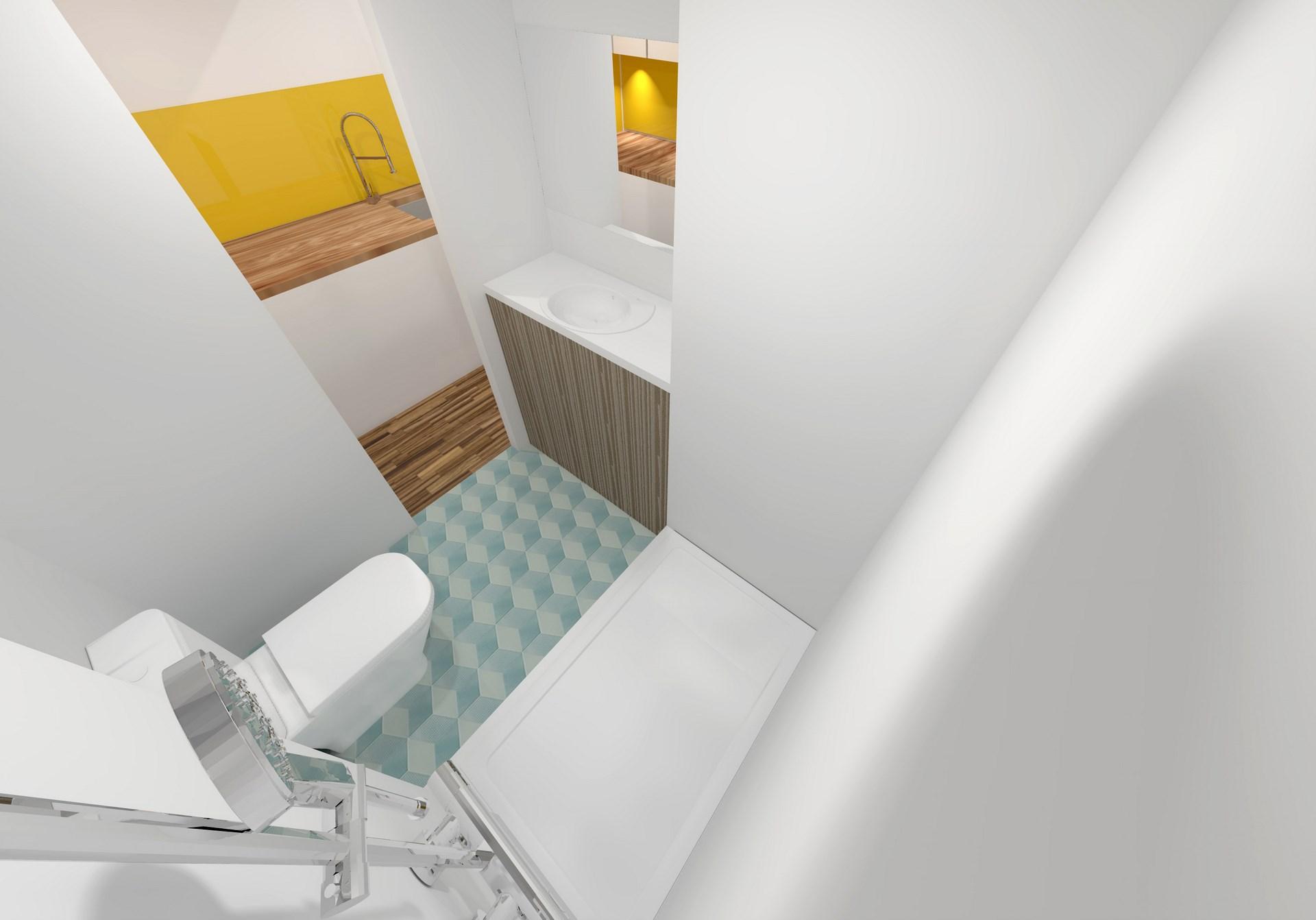 renovation studio agencement salle de bain agence avous