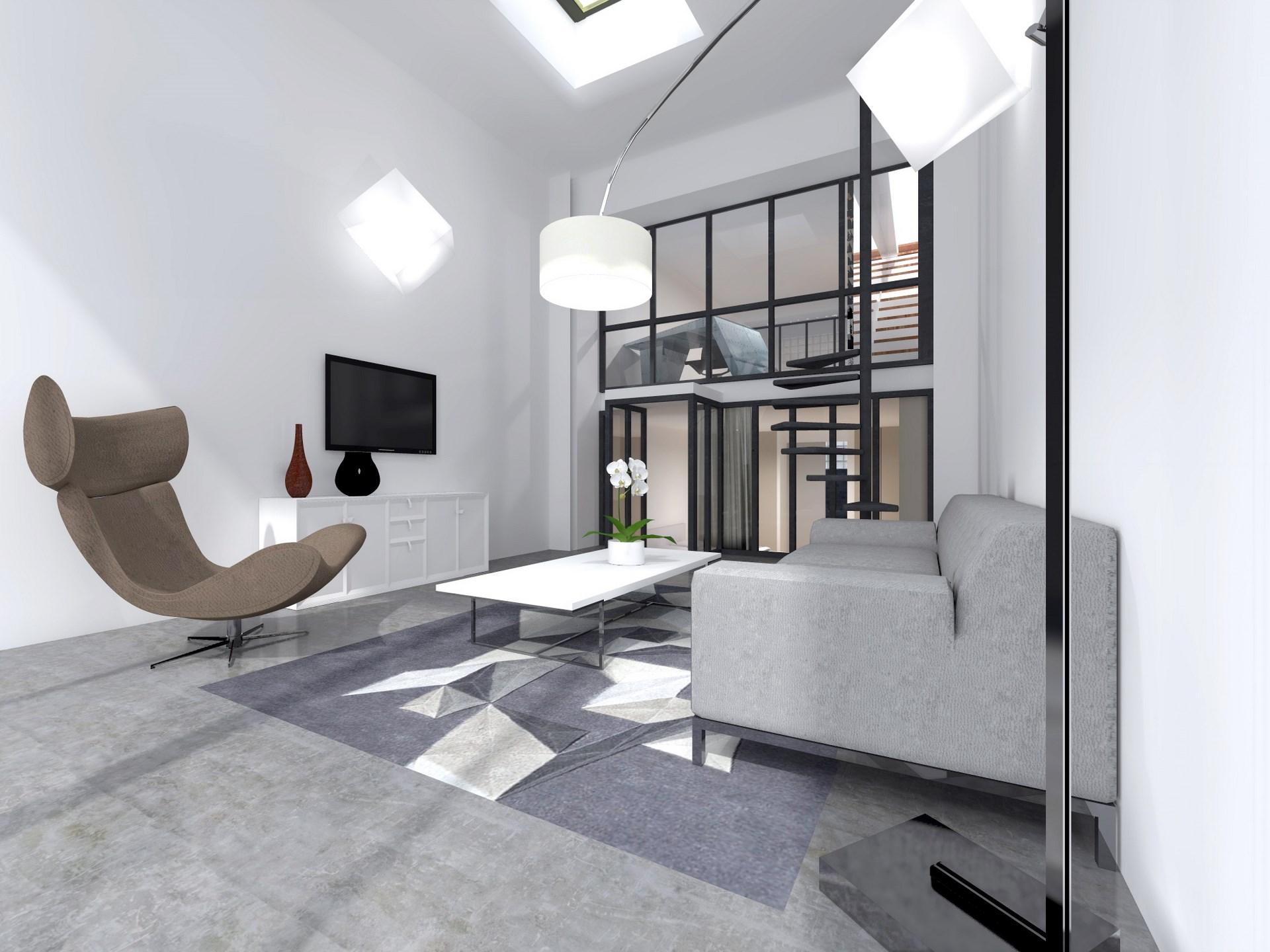 triplex industriel design contemporain agence avous