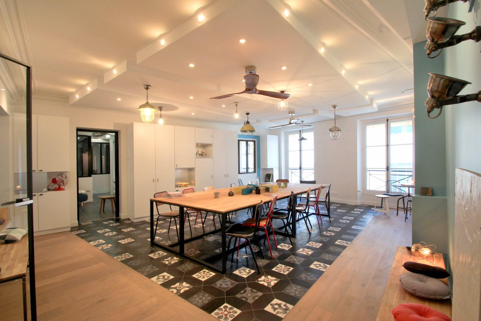 Salon De Jardin Carreau De Ciment bureaux atypiques pour missions publiques sentier paris