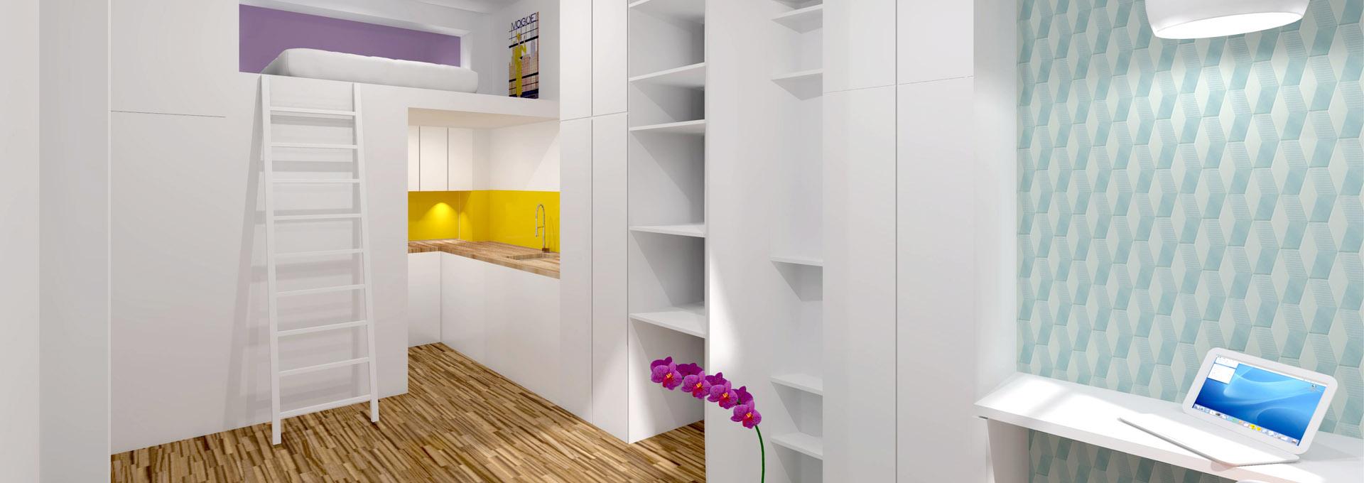 Mezzanine Chambre De Bonne » Astuces de déco chambre moderne ado ...