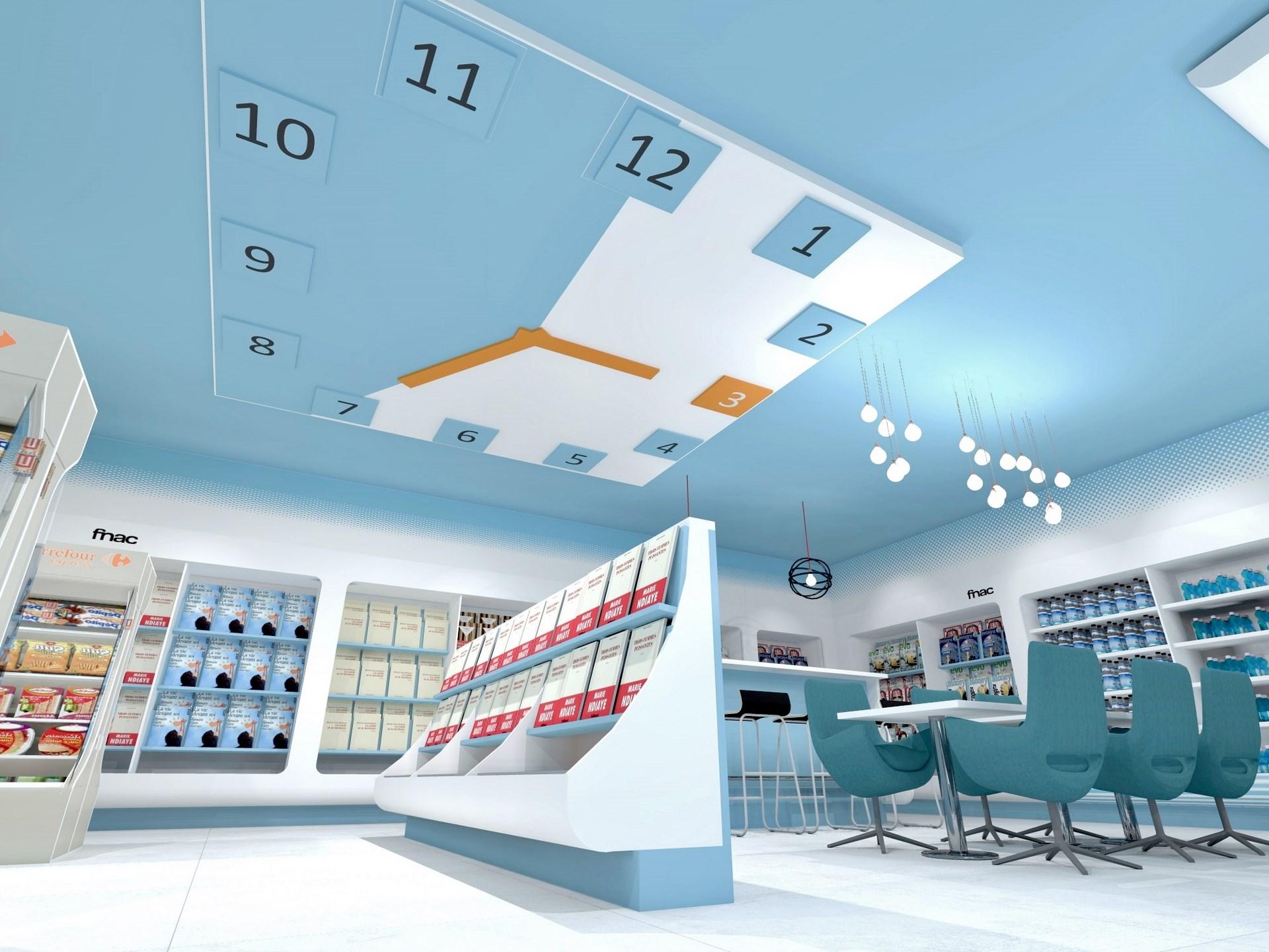 concept gare horloge geante librairie agence avous