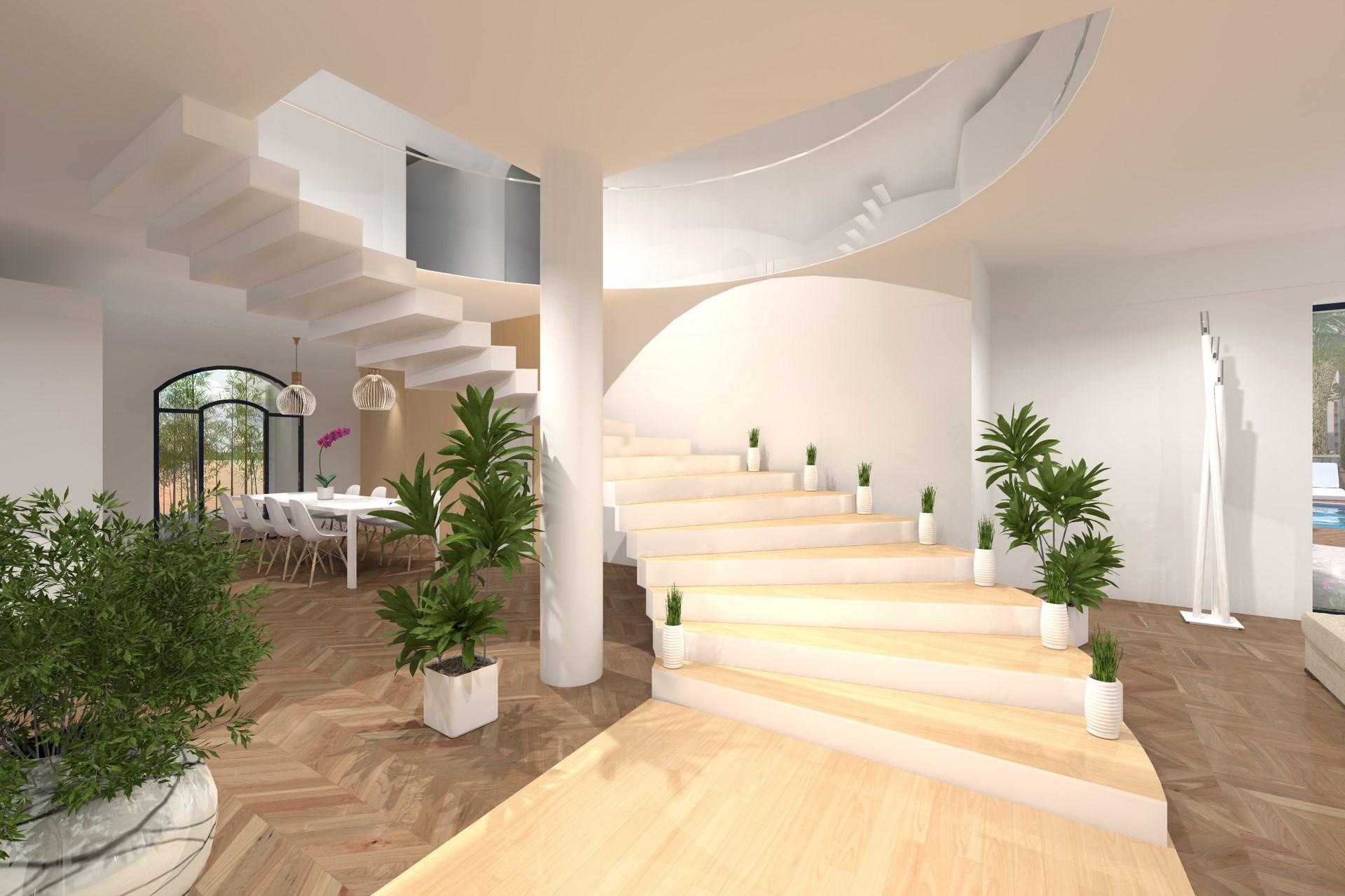 escalier monumental agence avous