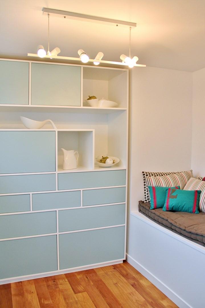 maison renovation luxe meuble sur mesure boudoir luminaire oiseau agence avous