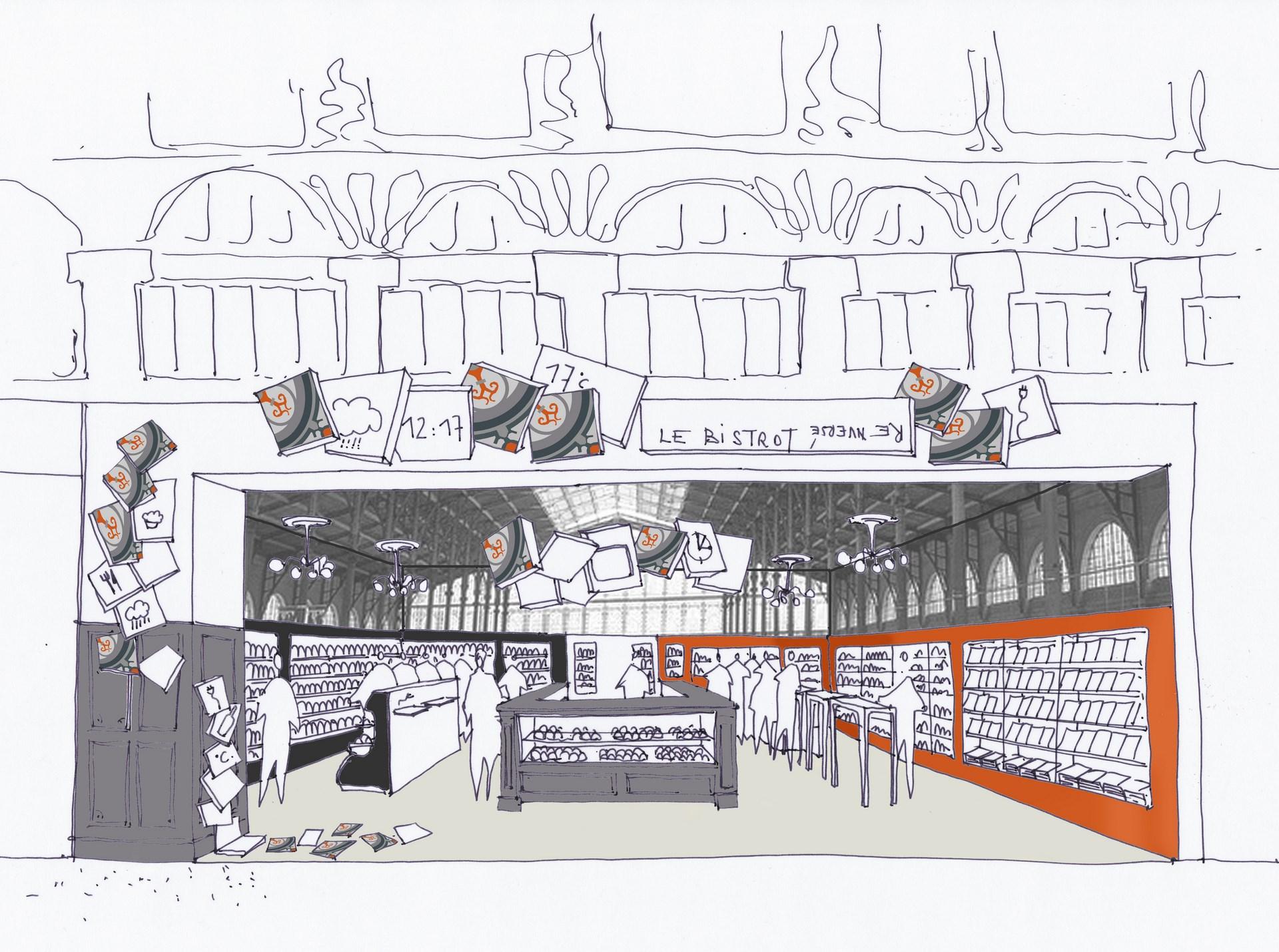 concept boutique restauration gare agence avous