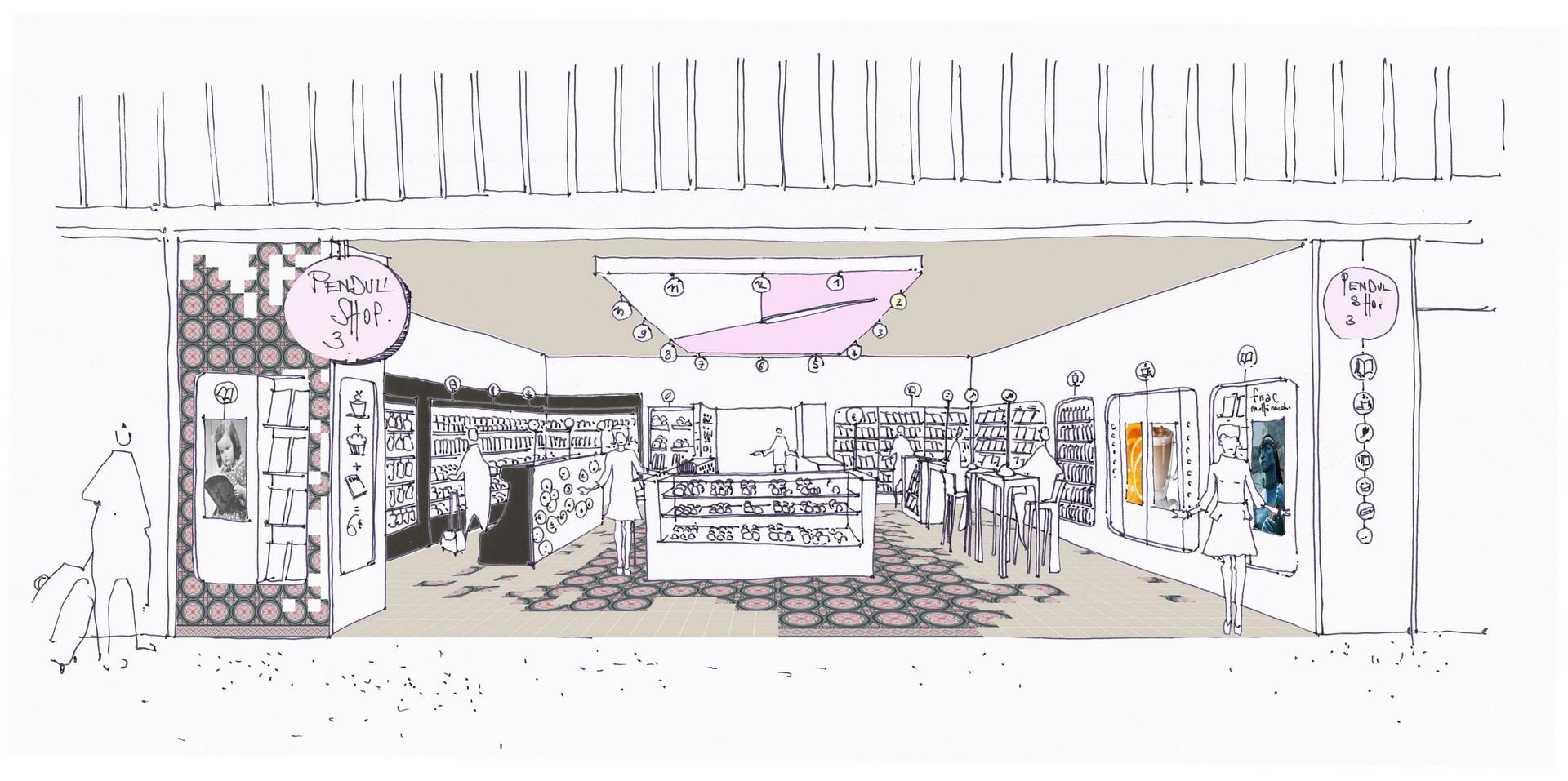 concept store gare boutique commerce agence avous