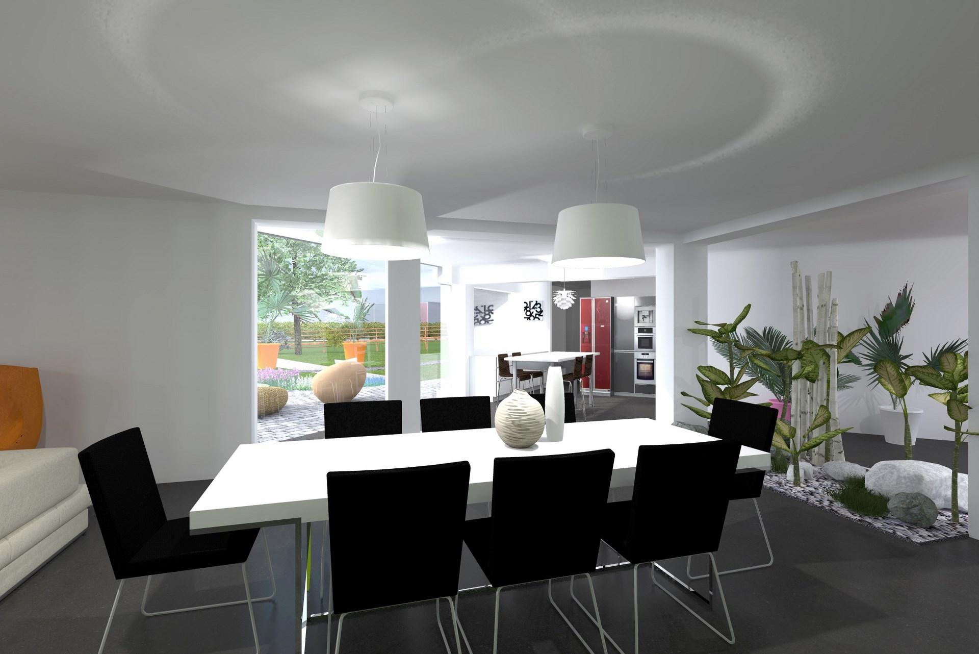piece a vire beton cire cuisine ouverte agence avous