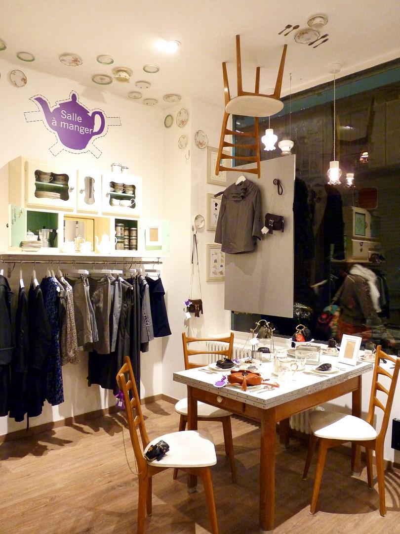 architecte concept boutique vintage vetement alice au pays des merveilles luxe paris agence avous