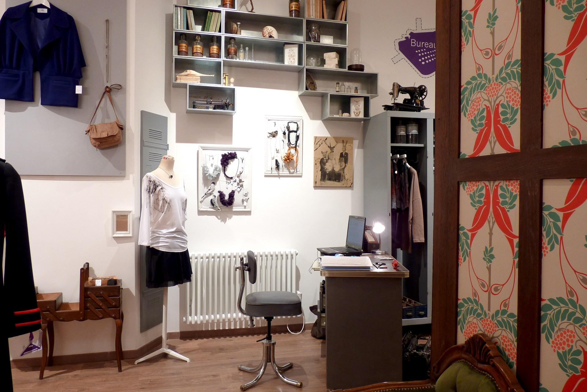 architecte concept boutique vintage vetement bijou artisanal agence avous