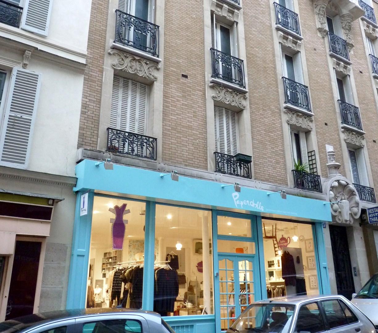 architecte concept boutique vintage vetement bijoux montre paris montmatre agence avous