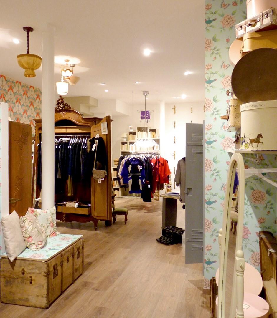 architecte concept boutique vintage vetement paris prestige montmatre agence avous