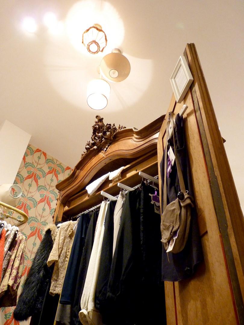 architecte concept boutique vintage vetement vieux meuble paris original agence avous