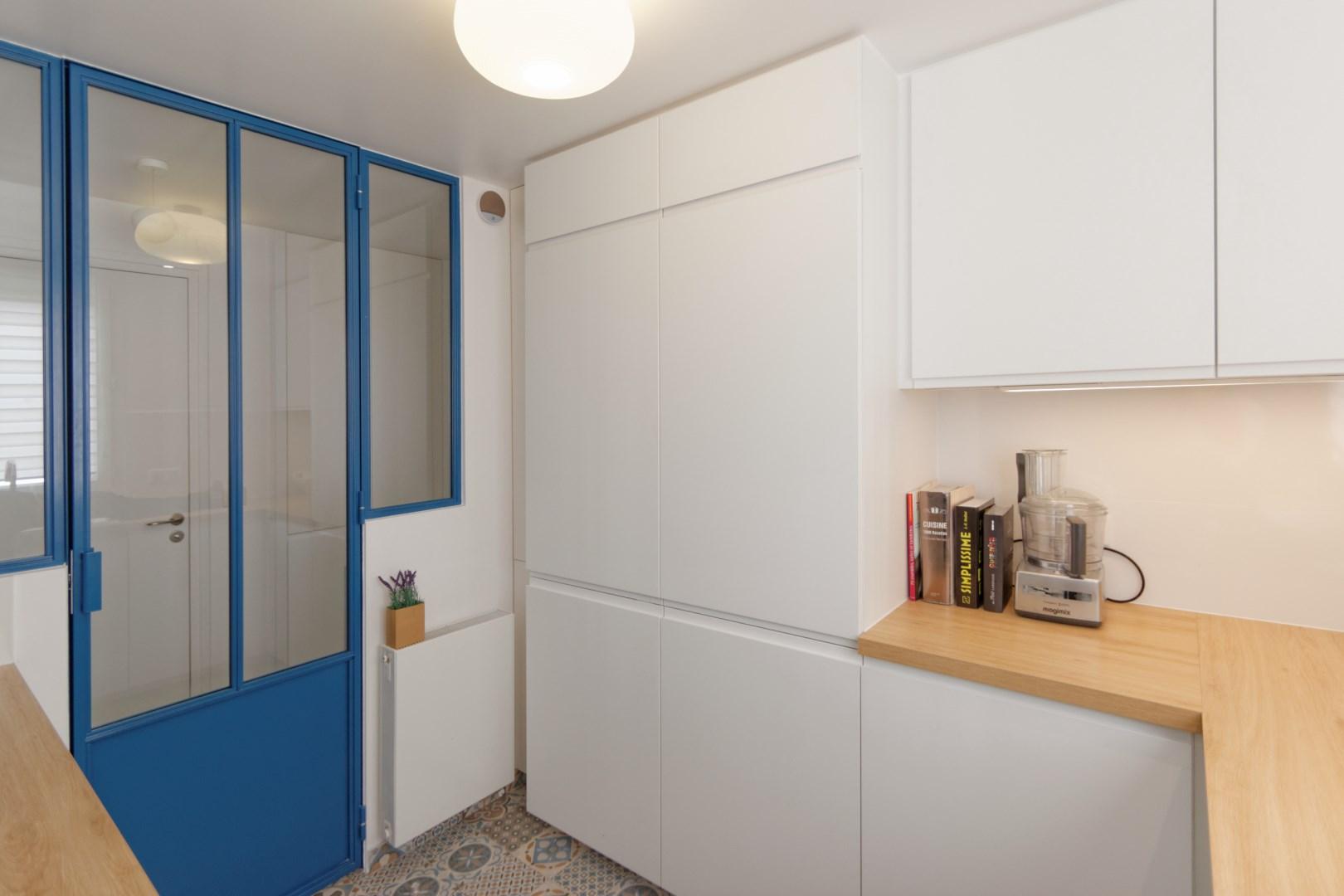 Renovation Verriere Atelier Cuisine Ikea